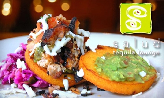 Salud Tequila Lounge - Wicker Park: $15 for $30 Worth of Mexican-American Cuisine at Salud Tequila Lounge
