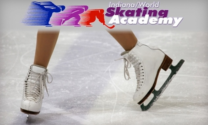Indiana/World Skating Academy - Downtown Indianapolis: $45 for an Eight-Week Learn-to-Skate Program at Indiana/World Skating Academy ($100 Value)