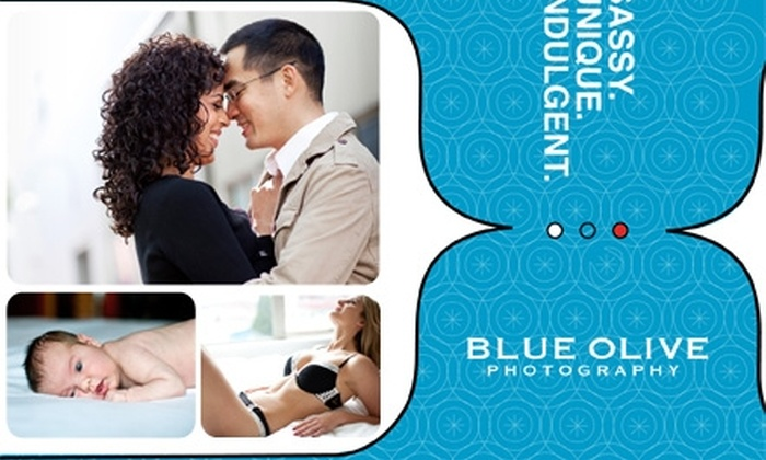 """Blue Olive Photography - Vancouver: $69 for a Mini-Portrait Session, Plus One 8""""x12"""" Print and Two 5""""x7"""" Prints, from Blue Olive Photography ($495 Value)"""