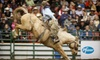 Heritage Ranch Rodeo - Edmonton Northlands: Two Tickets to Heritage Ranch Rodeo at Edmonton Expo Centre ($26.60 Value). Two Dates Available.