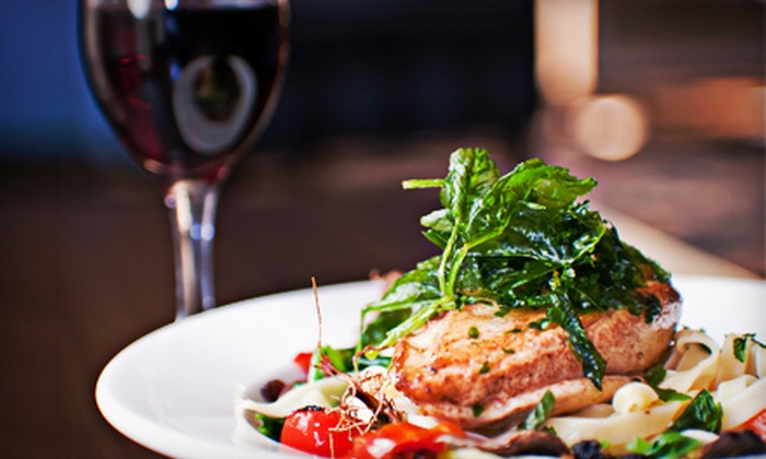 Figaro Bistro - Midtown East: $35 for an Italian Dinner for Two with Appetizer, Entrees, and Wine at Figaro Bistro (Up to $91.85 Value)