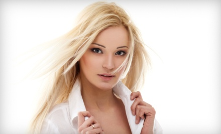 Women's Haircut and Style (a $45 value) - Salon Zero in Safety Harbor