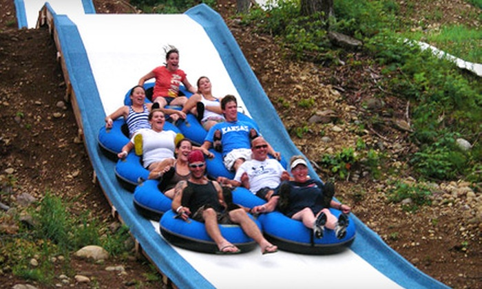Tubby Tubes - Lake Luzerne: Two Hours of Slide-Park Tubing for Two or Four at Tubby Tubes (Up to 55% Off)