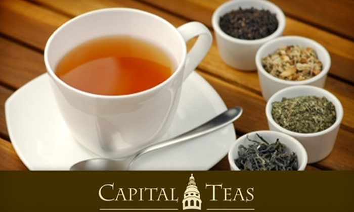 Capital Teas - Multiple Locations: $15 for $30 Worth of Loose Tea at Capital Teas in Annapolis, Bethesda, or National Harbor in Oxon Hill