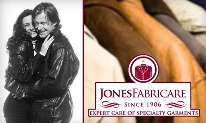 Jones Fabricare - Greensboro: $19 for $65 Worth of Specialty Suede & Leather Cleaning at Jones Fabricare