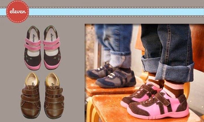 Eleven Collection - Dallas: $25 for $50 Worth of Children's Shoes at Eleven Collection