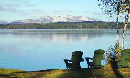 2-Night Stay for Two with Optional Ski Package at Lake Clear Lodge in Lake Clear, NY