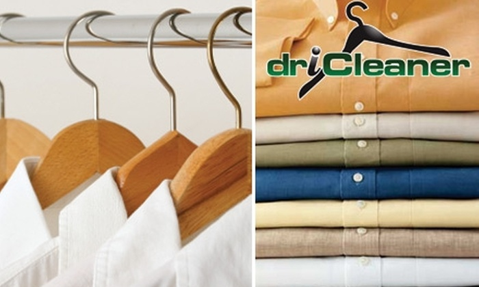 driCleaner - Raleigh / Durham: $10 for $22 Worth of Dry Cleaning with Delivery Service from driCleaner