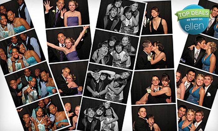 The Little Black Booth - Multiple Locations: Photo-Booth Rental for Two or Four Hours from The Little Black Booth by Kemmetmueller Photography (Up to 62% Off)