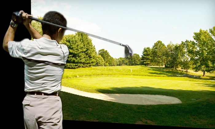 Max's Golf Centre - Waterloo: $34 for a Three-Hour Indoor PGA Golf Simulator Outing for Up to Four at Max's Golf Centre (Up to $104.97 Value)