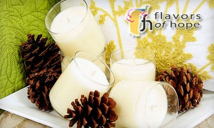 Flavors of Hope - Washington DC: $12 for One Candle from Flavors of Hope ($25 Value)