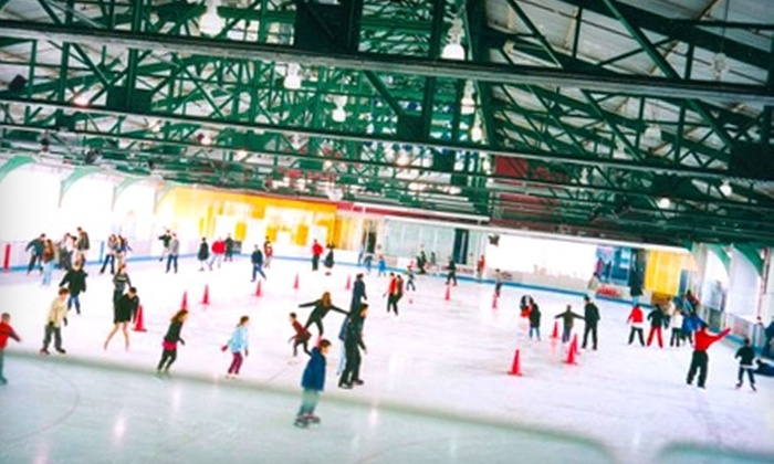 Sky Rink at Chelsea Piers - New York City: $10 for Ice-Skating Admission and Skate Rental at Sky Rink at Chelsea Piers
