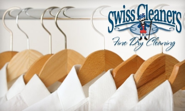 Swiss Cleaners - Multiple Locations: $15 for $30 Worth of Dry Cleaning and Laundry Services from Swiss Cleaners