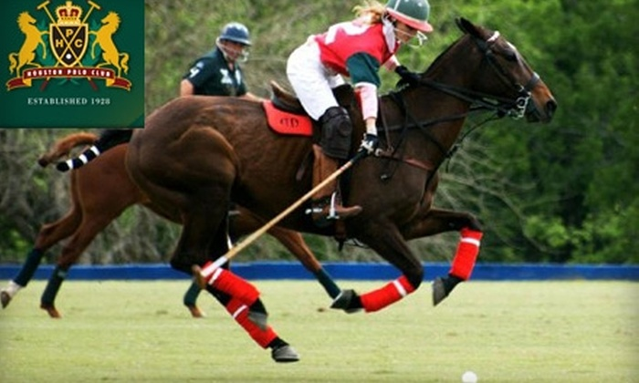The Houston Polo Club - Washington Ave./ Memorial Park: $10 for One General-Admission Ticket to The Houston Polo Club ($20 Value)