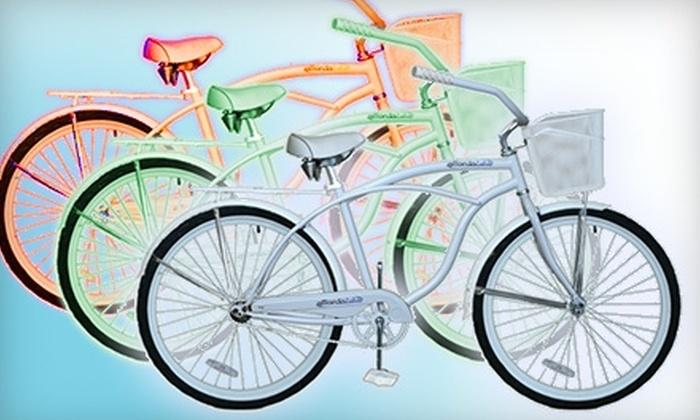 Affordabike - Cannonborough - Elliottborough: $55 for a Basic Build-a-Bike Package ($110 Value) or $10 for a One-Day Beach Bike Rental ($20 Value) at Affordabike