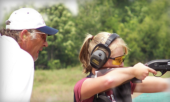 Terry Hetrick Shooting School - Scottsboro: Skeet-Shooting Lesson for One or Two from the Terry Hetrick Shooting School (Up to 65% Off)