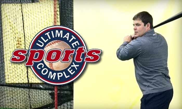 Ultimate Sports Complex - Nashville-Davidson metropolitan government (balance): Batting-Cage Rental at Ultimate Sports Complex in Hermitage. Choose Between Two Options.