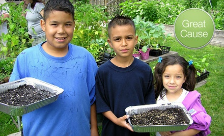 Donation For School Gardening G Team American Community Garden Association Groupon