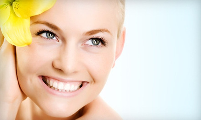 Aura Salon and Spa - Multiple Locations: One or Three Deep-Cleansing Facials at Aura Salon and Spa (Up to 66% Off)