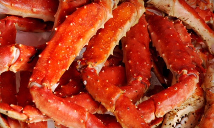 King Crab Tavern and Seafood Grill Chicago - DePaul: $30 Worth of Seafood and Drinks