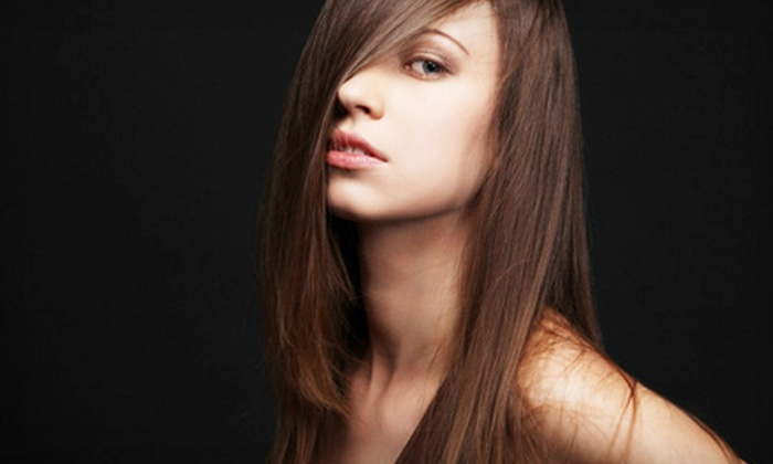 Beauty SQ - South Beach / Old Town: Global Keratin Treatment or Japanese Hair-Straightening Treatment at Beauty SQ on Staten Island (Up to 68% Off)