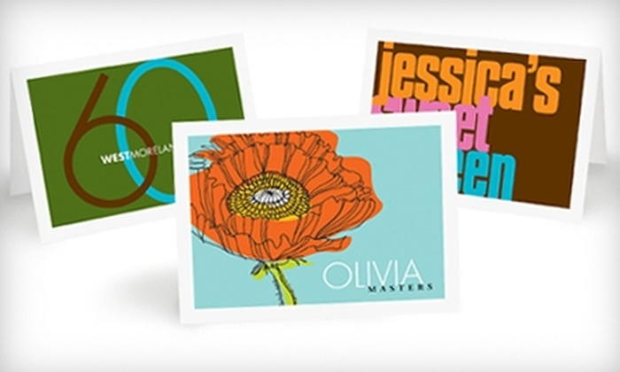 Fabulous Stationery: $15 for $30 Worth of Personalized Stationery from Fabulous Stationery's Online Store