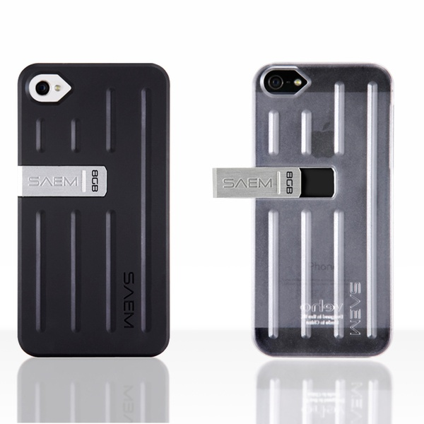 low priced b90f9 78b2f Veho SAEM S7 Case with 8GB Integrated USB Memory Drive for iPhone 4/4S or  5/5S. Multiple Colors Available. Free Returns.