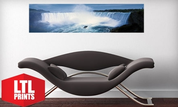 "Larger Than Life Prints: $35 for a ""Big Wall Graphic"" Panoramic Wall Mural from Larger Than Life Prints ($86 Value)"
