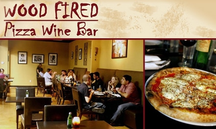 Wood Fired Pizza and Wine Bar - Tampa Bay Area: $20 for $50 Worth of Naturally Leavened Pizza and Drinks at Wood Fired Pizza and Wine Bar