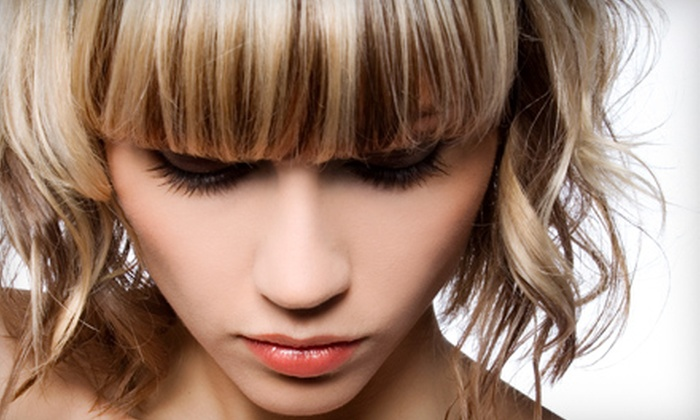 Lisa Marie Salons - Fairlawn: $60 for a Women's Haircut and Partial Highlights at Lisa Marie Salons in Fairlawn ($135 Value)