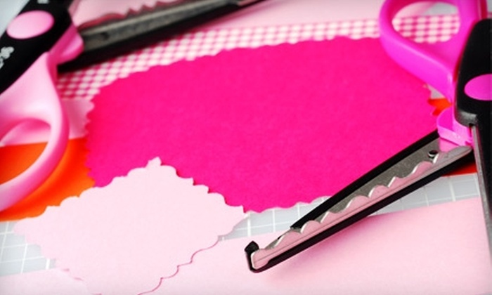 Sooner Scrapbooks - Tulsa: $30 for a Kids' Crafting Birthday Party at Sooner Scrapbooks ($60 Value)