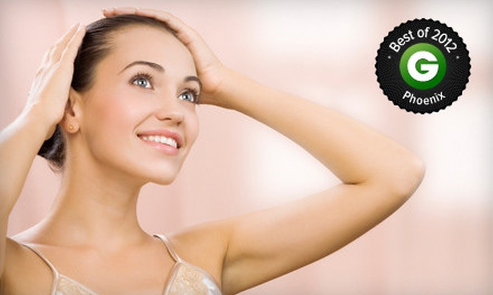 Simplicity - Multiple Locations: Laser Hair-Reduction Treatments at Simplicity (Up to 90% Off). Five Options Available.