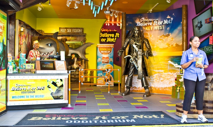 Ripley's Believe It or Not! Key West - Key West: Ripley's Believe It or Not! Odditorium Visit for Two or Four People (Up to 47% Off)