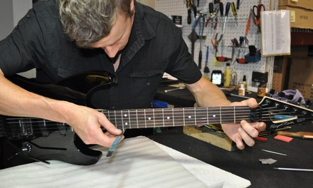 $25 for $55 Worth of InstrumentMaintenance Services  Don't Fret Guitar Repair