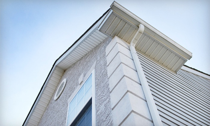 Ward Group Property Services - Downtown: Gutter Cleaning or Exterior Pressure Washing from Ward Group Property Services (Up to 76% Off)