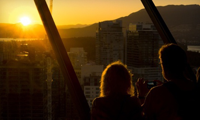 Vancouver Lookout - Downtown Vancouver: Two Adult or Family Passes, or Lookout Membership for One Adult or Family at Vancouver Lookout (Up to 53% Off)