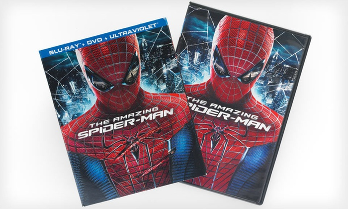 """The Amazing Spiderman"" Movie: ""The Amazing Spiderman"" DVD or Blu-ray/DVD (Up to 55% Off). Free Shipping for Purchases of $15 or More. Free Returns."