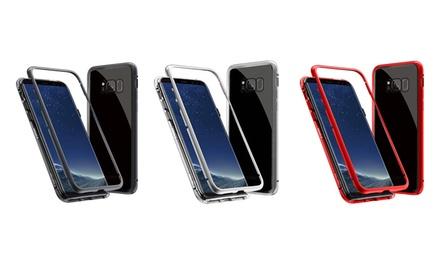 Coque magnétique compatible Samsung Galaxy