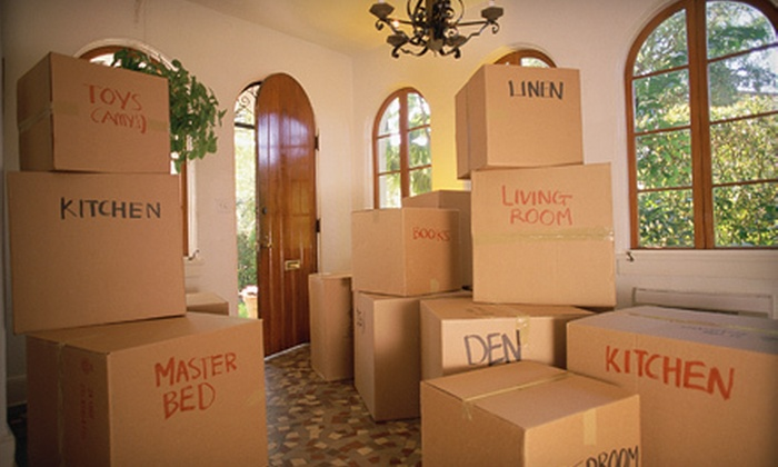 Mighty Movers - Preston Hollow North: $99 for Two Hours of Moving Services with Two Movers and a 26-Foot Truck from Mighty Movers ($323 Value)
