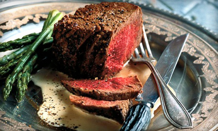 Grady's Line Camp Steakhouse - Granbury West: Steak-House Food at Grady's Line Camp Steakhouse (Half Off). Two Options Available.