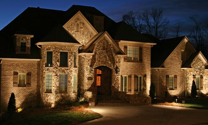 Outdoor lighting package infinity landscape lighting for Landscape lighting packages