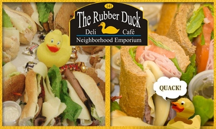 The Rubber Duck - Coral Gables Section: $5 for $10 Worth of Sandwiches, Soups, and Deli Delights at The Rubber Duck