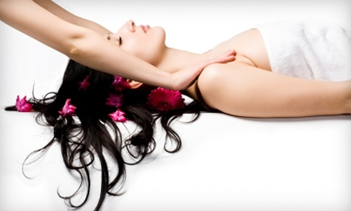Beyond Organic Spa - Edgewater: $55 for an Organic Massage Treatment ($115 Value) or $45 for a Mani-Pedi ($90 Value) at Beyond Organic Spa