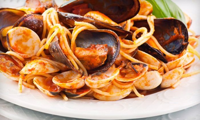 The Vines Pasta Grill - Dartmouth: $10 for $20 Worth of Italian Dinner Fare and Drinks at The Vines Pasta Grill