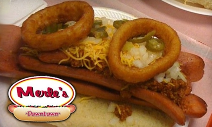 Merle's Downtown - Downtown Springfield: $5 for $10 Worth of American Fare at Merle's Downtown