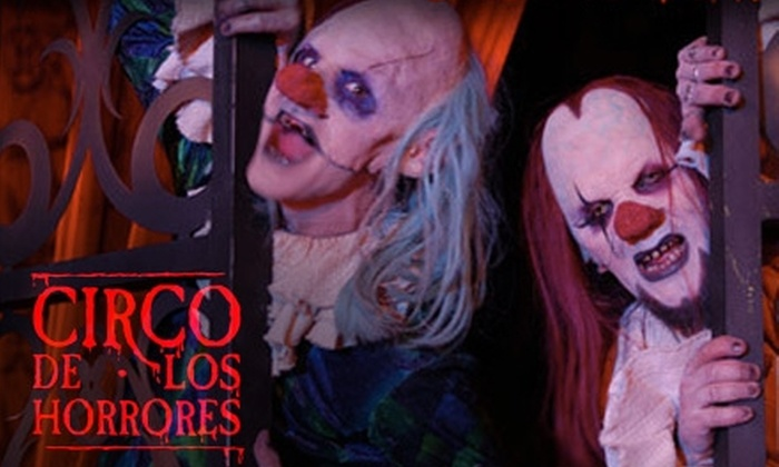 Full Moon Productions - Brickell: $34 for a Ticket to Circo de los Horrores. Choose From Two Dates.