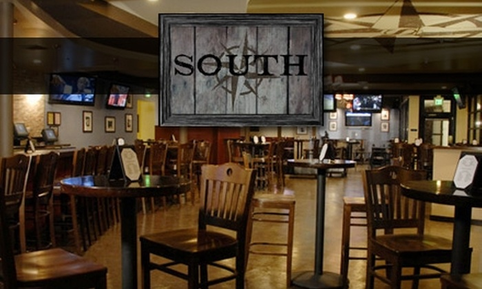South - Northeast: $10 for $20 Worth of Southern Fare and Drinks at South in Santa Monica