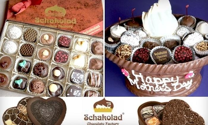 Schakolad Chocolate Factory - Downtown Birmingham: $10 for $25 Worth of Handmade Confections at Schakolad of Birmingham