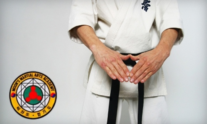 Moon's Martial Arts Academy - Columbus: One Month of Classes at Moon's Martial Arts Academy. Choose Between Two Options.