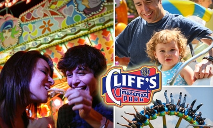 Cliff's Amusement Park - Friedman - Gage: $24 for Two All-Day Passes to Cliff's Amusement Park (Up to $49.90 Value)